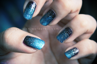 Nail Art Midnight Sky Gradient What I Have Shown You Is
