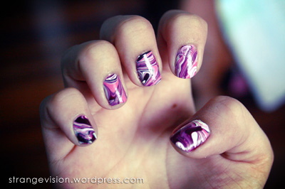 Nail Art Tutorial Dry Marble Nails What I Have Shown You Is