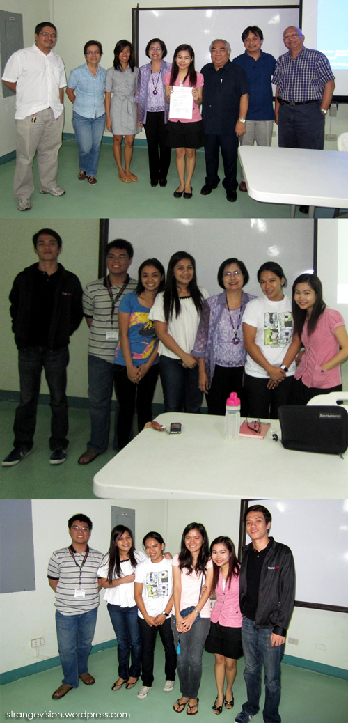 Thesis Defense : SUCCESS! | What I Have Shown You Is Reality ...