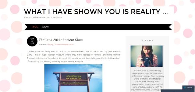 carmi blog layout vaio